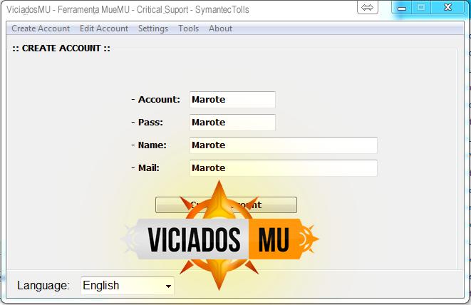 Editor Critical Mu Online viciados mu MueMU