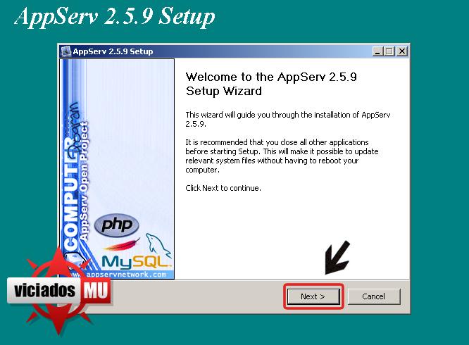 Configurando appserv para deixar seu site on Appserv1