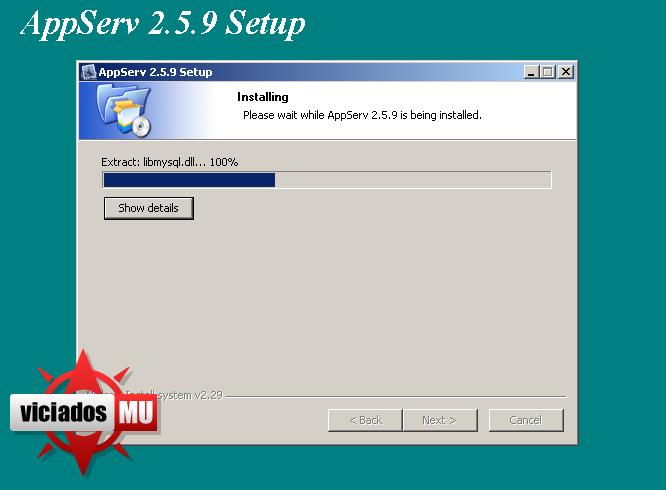 Configurando appserv para deixar seu site on Appserv6