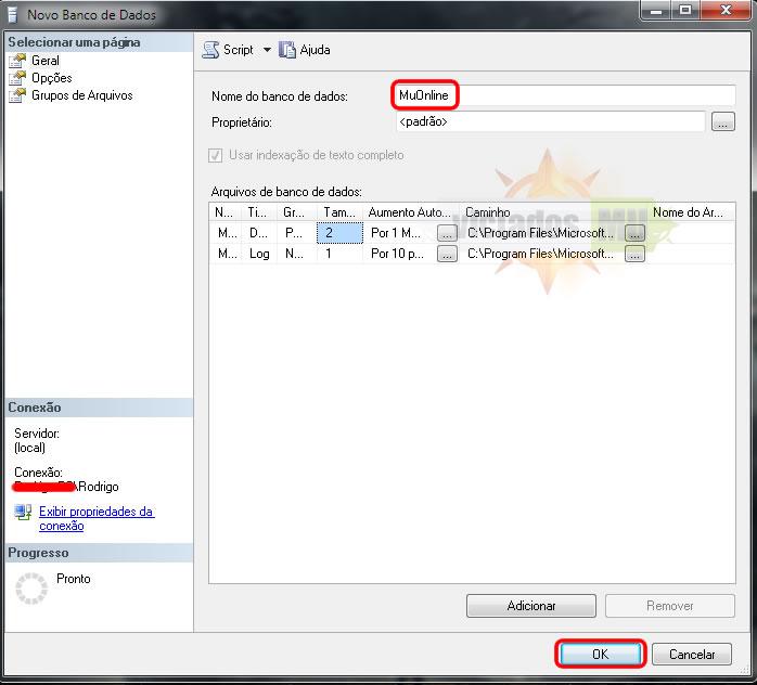Configurando SQL 2008 Confgsql2008d