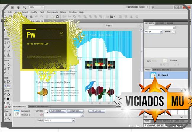 - Adobe Fireworks CS6 CC+, Ferramenta Designer Professional Mu Online ; Free download, inscreva-se em nosso canal no youtube e aproveite para participar do discord galera viciados