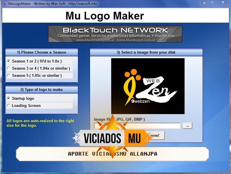 baixar logo maker mu online compativel com season 14, alterar logo mu online, comunicação visual mu online, interface ingame mu online