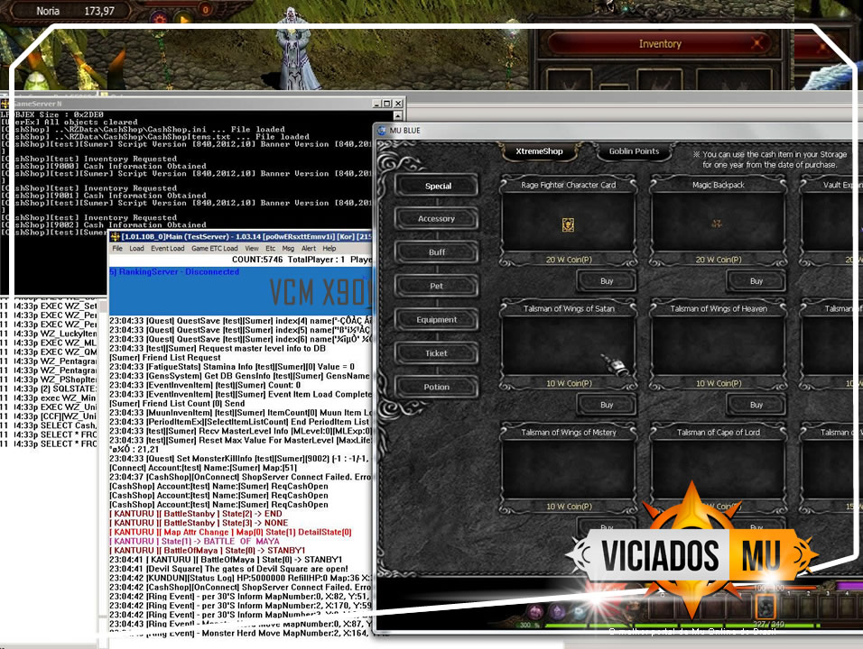 X901 MU SERVER VICIADOSMU completo 9 sourcecode, forum de mu online